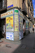Laboratorio de Especialidades Café Farmacia, pharmacy cafe, Malasana barrio, Madrid city centre, Spain