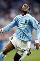 Fotball, 30. november 2003, Premier League, Manchester City - Middlesbrough 0-1,  Shaun Wright-Phillips, Manchester City