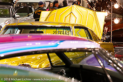 The 27th Annual Mooneyes Yokohama Hot Rod Custom Show 2018 was filled with the most spectacular custom cars and hot rods. Yokohama, Japan. Sunday, December 2, 2018. Photography ©2018 Michael Lichter.