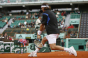 Roland Garros. Paris, France. May 31st 2006. .Moya against Youzhny during the 2nd tour of the tennis french open.