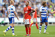 Nahki Wells of Huddersfield Town looks on. EFL Skybet  championship match, Reading  v Huddersfield Town at The Madejski Stadium in Reading, Berkshire on Saturday 24th September 2016.<br /> pic by John Patrick Fletcher, Andrew Orchard sports photography.