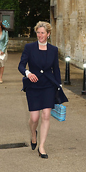 TIGGY LEGGE-BOURKE at the wedding of Hugh van Cutsem to Rose Astor in Burford, Oxfordshire on 4th June 2005.<br /><br />NON EXCLUSIVE - WORLD RIGHTS