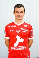 Julien Faussurier of Brest during the Photo shooting of Stade Brestois in Brest on september 22th 2016<br /> Photo : Philippe Le Brech / Icon Sport