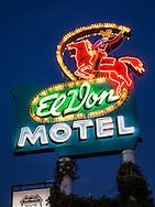 El Don Motel, neon, Albuquerque, New Mexcio, Route 66,