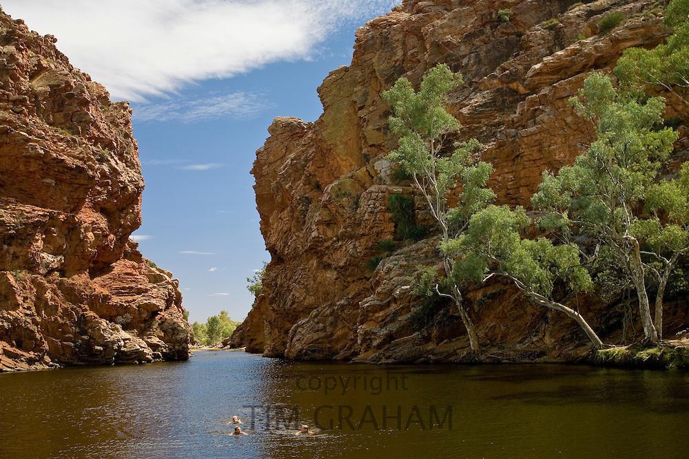 Ellery Creek Big Hole, Red Centre, Northern Territory, Australia