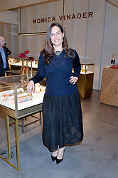 Jeweller MONICA VINADER at a party to celebrate the launch of the Monica Vinader London Flagship store at 71-72 Duke of York Square, London SW3 on 4th December 2014.