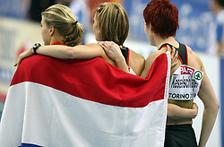 French athletes at the 1st day of  European Athletics Indoor Championships Torino 2009 (6th - 8th March), at Oval Lingotto Stadium,  Torino, Italy, on March 6, 2009. (Photo by Vid Ponikvar / Sportida)