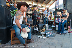 The Hideaway Grill in Cavecreek, AZ during Arizona Bike Week. USA. April 6, 2014.  Photography ©2014 Michael Lichter.