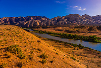 Green River passing through Dinosaur National Monument, Utah USA.