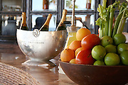 Easter Champagne Brunch as celebrated at Capella Pedregal Hotel & Resort, in Cabo San Lucas, Baja California Sur. <br /> The Easter brunch was offering inclusive Taittinger Champagne and Bloody Marys. <br /> Don Manuel's restaurant's Su Cocina was serving breakfast items, combination salads, seafood selections, traditional roasts and accompaniments, Continental Charcuterie and cheeses, Mexican specialties and a tempting choice of desserts.