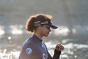 Putney, London,  Tideway Week, OUWBC. Oxford, 7: Emily Cameron, Championship Course. River Thames, <br /> <br /> Tuesday  28/03/2017<br /> [Mandatory Credit; Credit: Peter Spurrier/Intersport Images.com ] Stroke: Championship Course. River Thames, <br /> <br /> Tuesday  28/03/2017<br /> [Mandatory Credit; Credit: Peter Spurrier/Intersport Images.com ]