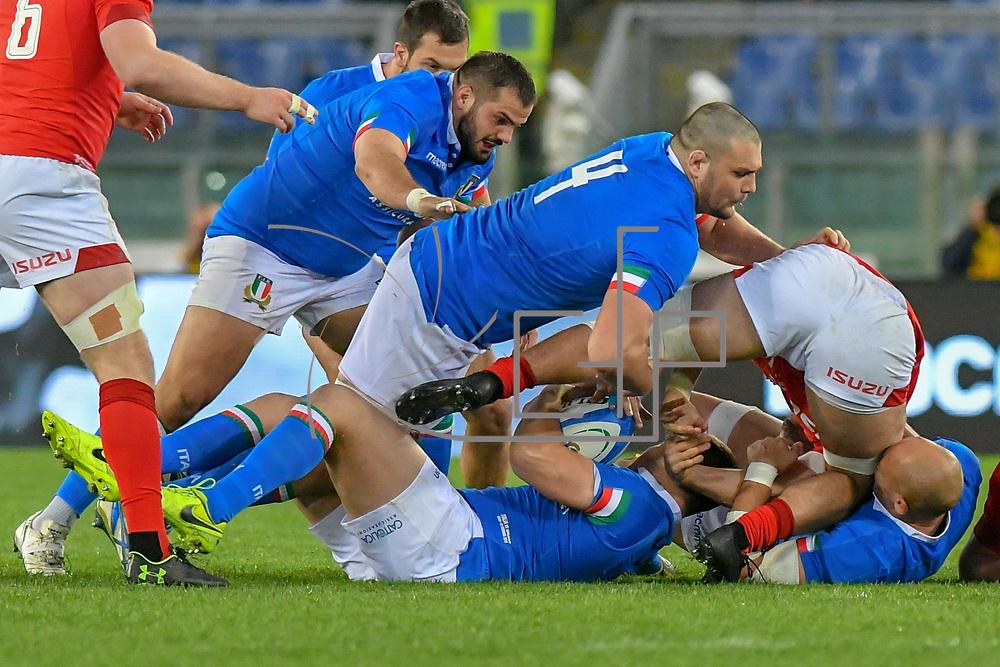Roma 10/02/2019 Stadio Olimpico<br /> Guinness 6 nazioni 2019<br /> Italia vs Galles