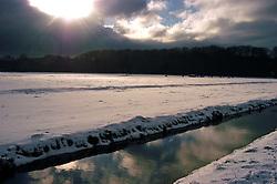 sun after a winterstorm