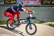2021 UCI BMXSX World Cup<br /> Round 2 at Verona (Italy)<br /> ^me#3 ANDRE, Sylvain (FRA, ME) Wiawis, Lead, 6D, Tangent