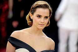 """Emma Watson at """"Manus x Machina: Fashion In An Age of Technology"""" Costume Institute Gala.<br />(Metropolitan Museum of Art, NYC)"""