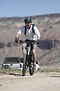 SHOT 5/20/17 9:55:40 AM - Emery County is a county located in the U.S. state of Utah. As of the 2010 census, the population of the entire county was about 11,000. Includes images of mountain biking, agriculture, geography and Goblin Valley State Park. (Photo by Marc Piscotty / © 2017)