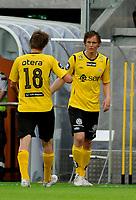 Fotball , 10. juni 2010 , sør arena , Nm , Cup , Start - Sandnes Ulf, Debutant Ole Christian Langeland , kommer inn for Mads Stokkelien , start.  foto: Trond Tjønneland, Digitalsport.