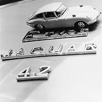 Jaguar E-Type Model Car, Corgi Whizzwheels Collection