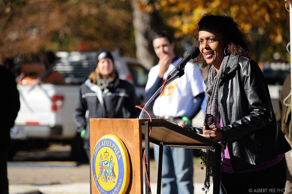 Fairmount Park Conservancy's Fall Service Day at Carroll Park<br /> <br /> 5800 Girard Ave<br /> <br /> Novmeber 15, 2014