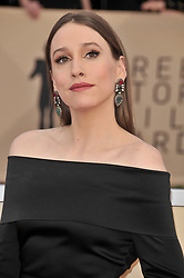 Sarah Sutherland arrives at the 24th annual Screen Actors Guild Awards at The Shrine Exposition Center on January 21, 2018 in Los Angeles, California. <br /><br />(Photo by Sthanlee Mirador/Sipa USA)
