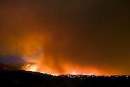 Jesusita Fire, Santa Barbara, California. May 2009