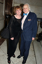 SIR PEREGRINE &  LADY LUCINDA WORSTHORNE at a party to celebrate the publication of Andrew Robert's new book 'Waterloo: Napoleon's Last Gamble' and the launch of the paperback version of Leonie Fried's book 'Catherine de Medici' held at the English-Speaking Union, Dartmouth House, 37 Charles Street, London W1 on 8th February 2005.<br />