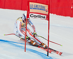 21.01.2011, Tofana, Cortina d Ampezzo, ITA, FIS World Cup Ski Alpin, Lady, Cortina, SuperG, im BildMarion Rolland (FRA, #6) // Marion Rolland (FRA)  during FIS Ski Worldcup ladies SuperG at pista Tofana in Cortina d Ampezzo, Italy on 21/1/2011. EXPA Pictures © 2011, PhotoCredit: EXPA/ J. Groder