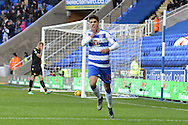 Reading's Lucas Piazon celebrates his goal during the Sky Bet Championship match between Reading and Bolton Wanderers at the Madejski Stadium, Reading, England on 21 November 2015. Photo by Mark Davies.
