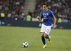 June 1, 2018 - Nice, Italy - Federico Chiesa during the friendly match between France and Italy, in Nice, on June 1, 2018  (Credit Image: © Loris Roselli/NurPhoto via ZUMA Press)