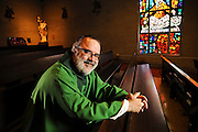 Rev. Dennis Kriz, OSM is Associate Pastor at Annunciata Church on Chicago's far southeast side. November 13th, 2014 l Brian J. Morowczynski-ViaPhotos<br /> <br /> For use in a single edition of Catholic New World Publications, Archdiocese of Chicago. Further use and/or distribution may be negotiated separately. <br /> <br /> Contact ViaPhotos at 708-602-0449 or email brian@viaphotos.com.