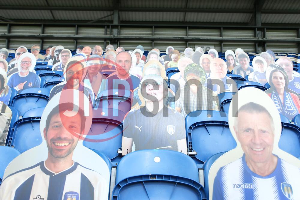 - Mandatory by-line: Arron Gent/JMP - 18/06/2020 - FOOTBALL - JobServe Community Stadium - Colchester, England - Colchester United v Exeter City - Sky Bet League Two Play-off 1st Leg