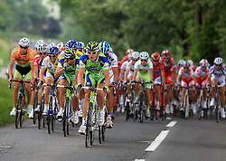 In the middle of peloton Maciej Bodnar of Poland (Liquigas) during 1st stage of the 15th Tour de Slovenie from Ljubljana to Postojna (161 km) , on June 11,2008, Slovenia. (Photo by Vid Ponikvar / Sportal Images)/ Sportida)
