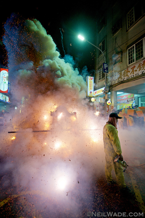 The Bombing of Tudi Gong is a Daoist religious festival held on the last day of the Lunar New Year Holiday,