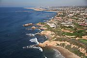 Aerial Of Corona Del Mar