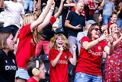 Bristol City fans at Hull City - Mandatory by-line: Robbie Stephenson/JMP - 24/08/2019 - FOOTBALL - KCOM Stadium - Hull, England - Hull City v Bristol City - Sky Bet Championship