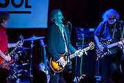 Scott McCaughey and Peter Buck performing  at the  Sol  Club in Madrid