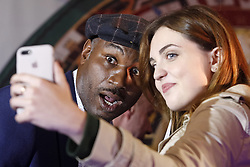 October 2, 2018 - Kiev, Ukraine - Former Boxing Champion LENNOX LEWIS pose for a photo during an authographs session for supporters at the 56th World Boxing Convention in Kiev, Ukraine, on 2 October 2018.The WBC 56th congress in which take part boxing legends Evander Holyfield,Lennox Lewis, Eric Morales and about 700 participants from 160 countries runs in Kiev from from September 30 to October 5. (Credit Image: © Serg Glovny/ZUMA Wire)