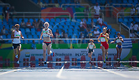 20160912 Copyright onEdition 2016©<br /> Free for editorial use image, please credit: onEdition<br /> <br /> Track Athlete, Georgina Hermitage, 400m T37 - Women, from Alton, Hants, competing for ParalympicsGB at the Rio Paralympic Games 2016.<br />  <br /> ParalympicsGB is the name for the Great Britain and Northern Ireland Paralympic Team that competes at the summer and winter Paralympic Games. The Team is selected and managed by the British Paralympic Association, in conjunction with the national governing bodies, and is made up of the best sportsmen and women who compete in the 22 summer and 4 winter sports on the Paralympic Programme.<br /> <br /> For additional Images please visit: http://www.w-w-i.com/paralympicsgb_2016/<br /> <br /> For more information please contact the press office via press@paralympics.org.uk or on +44 (0) 7717 587 055<br /> <br /> If you require a higher resolution image or you have any other onEdition photographic enquiries, please contact onEdition on 0845 900 2 900 or email info@onEdition.com<br /> This image is copyright onEdition 2016©.<br /> <br /> This image has been supplied by onEdition and must be credited onEdition. The author is asserting his full Moral rights in relation to the publication of this image. Rights for onward transmission of any image or file is not granted or implied. Changing or deleting Copyright information is illegal as specified in the Copyright, Design and Patents Act 1988. If you are in any way unsure of your right to publish this image please contact onEdition on 0845 900 2 900 or email info@onEdition.com