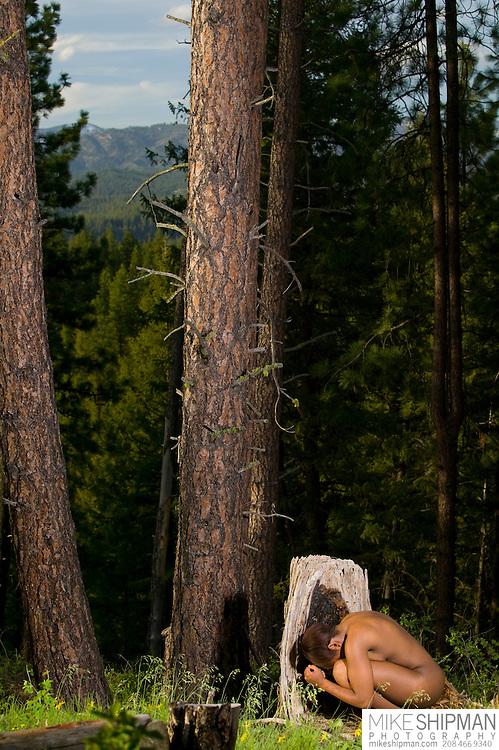 Ise Dunkley photo session, Grayback Ridge