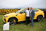 August 15, 2019:  Monterey Car Week, Stacey Rhodes, Chris Ward, Lamborghini Squadra Corse coordinator