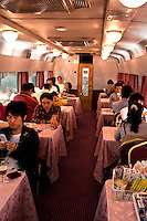 Dining Car On Board the Hokotosei