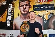 BOXEN: EC Boxpromotion & SES Boxing, Pressekonferenz, Hamburg, 17.12.2019<br /> Sebastian Formella<br /> © Torsten Helmke