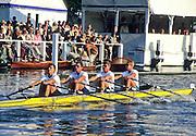 Henley, GREAT BRITAIN,  Men Quadruple Scull, competing at 1997 Henley Royal Regatta, Henley Reach, 2-6 July 1997, Henley, ENGLAND [Mandatory Credit, Peter Spurrier/Intersport-images] 1997 Henley Royal Regatta, Henley, Great Britain