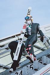 31.12.2020, Olympiaschanze, Garmisch Partenkirchen, GER, FIS Weltcup Skisprung, Vierschanzentournee, Garmisch Partenkirchen, Qualifikation, Herren, im Bild Thomas Lackner (AUT) // Thomas Lackner of Austria during qualification jump of men's Four Hills Tournament of FIS Ski Jumping World Cup at the Olympiaschanze in Garmisch Partenkirchen, Germany on 2020/12/31. EXPA Pictures © 2020, PhotoCredit: EXPA/ JFK