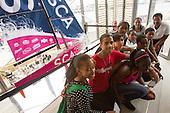 Volvo Ocean Race - SAMSA students visit race village