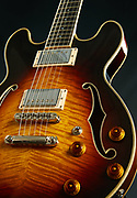 Eastman Guitars - Beauty shot of an Eastman electric guitar for the 2013 catalog and campaign. Eastman World Headquarters, Pomona, CA.<br /> August 1st, 2012<br /> Copyright 2017 Don Liebig