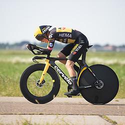 EMMEN (NED) June 16: <br /> CYCLING <br /> Koen Bouwman (Netherlands / Team Jumbo - Visma)