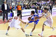 DESCRIZIONE : Roma Campionato Lega A 2013-14 Acea Virtus Roma Banco di Sardegna Sassari<br /> GIOCATORE :  Giacomo Devecchi<br /> CATEGORIA : difesa <br /> SQUADRA : Banco di Sardegna Sassari<br /> EVENTO : Campionato Lega A 2013-2014<br /> GARA : Acea Virtus Roma Banco di Sardegna Sassari<br /> DATA : 26/12/2013<br /> SPORT : Pallacanestro<br /> AUTORE : Agenzia Ciamillo-Castoria/M.Simoni<br /> Galleria : Lega Basket A 2013-2014<br /> Fotonotizia : Roma Campionato Lega A 2013-14 Acea Virtus Roma Banco di Sardegna Sassari <br /> Predefinita :