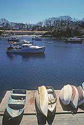 Row Boats On Dock