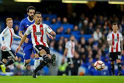 Nico Yennaris of Brentford in action - Mandatory by-line: Jason Brown/JMP - 28/01/2017 - FOOTBALL - Stamford Bridge - London, England - Chelsea v Brentford - Emirates FA Cup fourth round